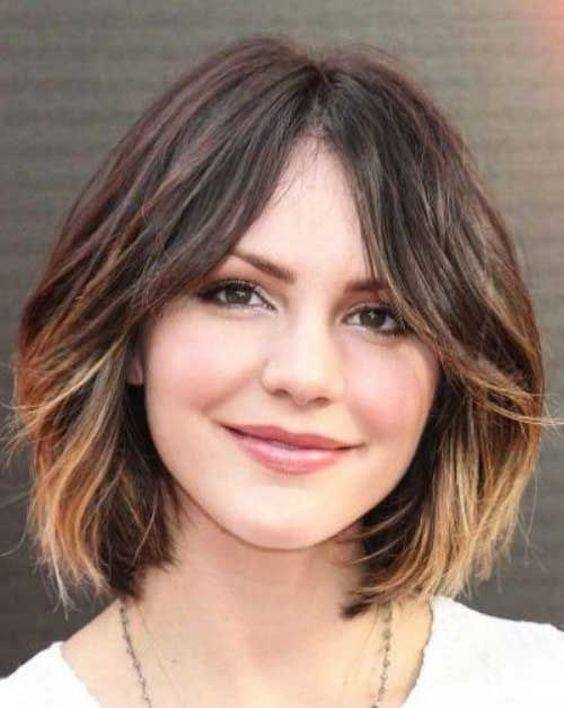 Short Haircuts for Round Faces and Thin Hair | ROUND FACE HAIRCUT STYLES FOR WOMEN SUIT FACE SHAPE HAIRCUT STYLES FOR