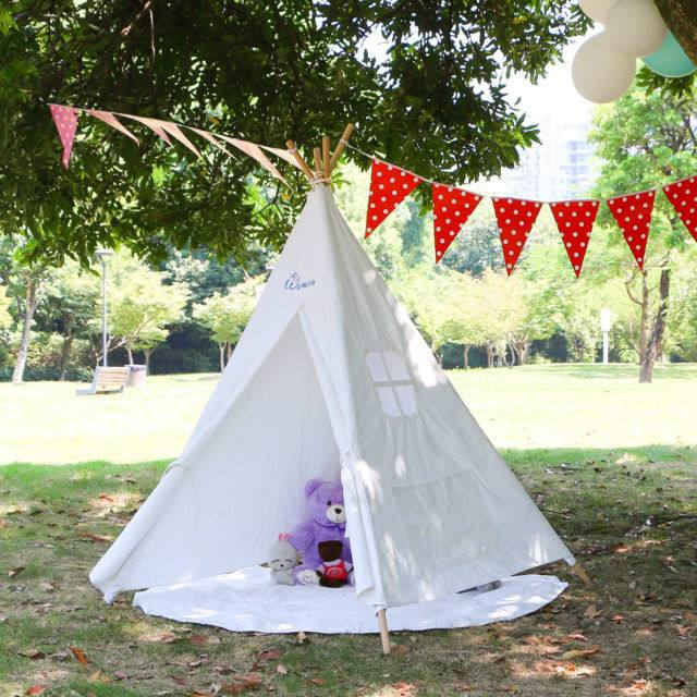 Baby Teepee Tent Love Tree Kids Tent Tent For Kids White Children Play  House Toy Kids Tents Baby Room Children S For Children Indoor Play Tents  Play Tents