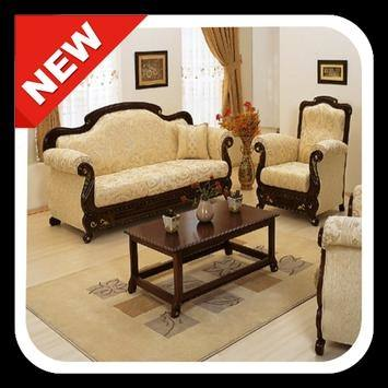 Royaloak Blossom Sofa Set in Fabric