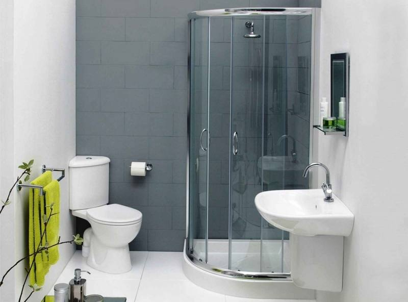 bathroom remodel ideas shower only | Bathroom Ideas for Small Spaces: Natural Small Bathroom With Shower