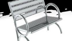pool chair 3D Model
