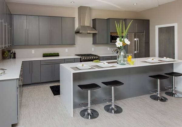 Integral Gloss  Anthracite Our Kitchens Mackintosh New Matt