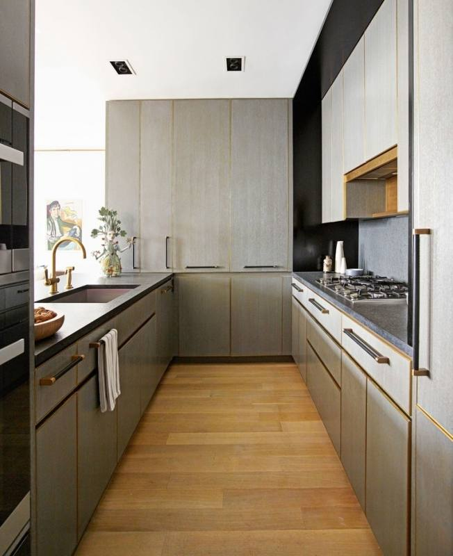 images of small galley kitchens