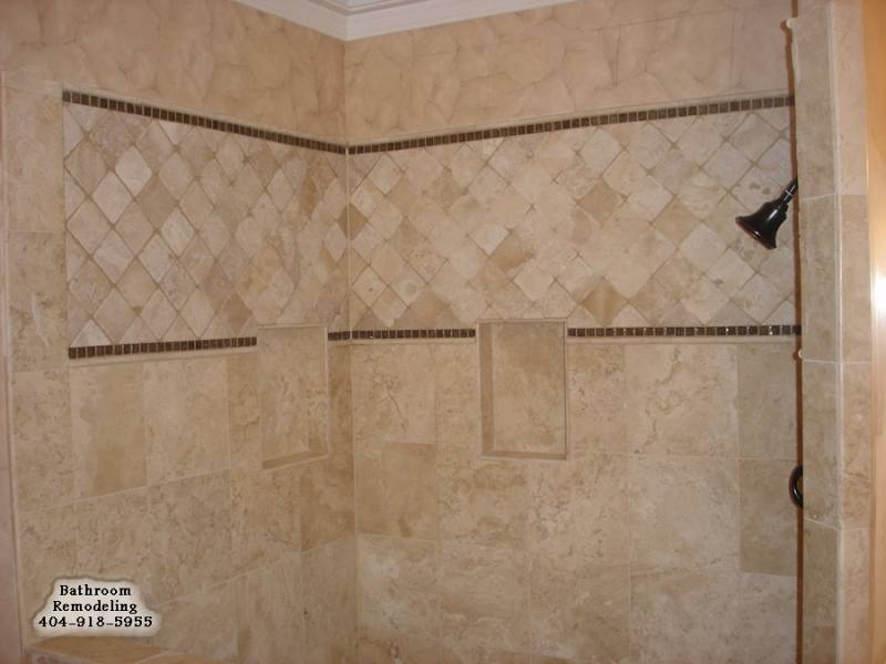 Glass Tile Bathroom Designs For Small Bathrooms
