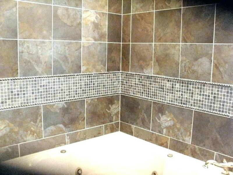 bathroom surround tile tub