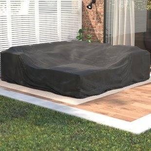 Heavy duty garden furniture covers made from high quality PVC to stand up  to the toughest elements