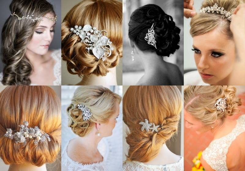 Latest Bridal Wedding Hairstyles Trends & Tutorial Hair Looks with  Pictures