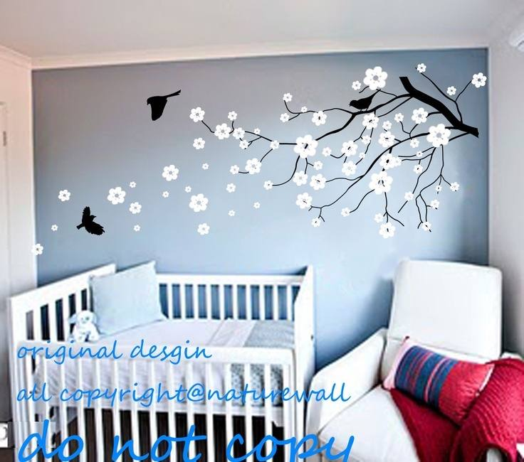 Shelf Tree Wall Decal Nursery Children Wall Decal by styleywalls
