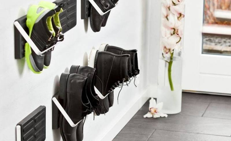 shoe wall racks wall hanging