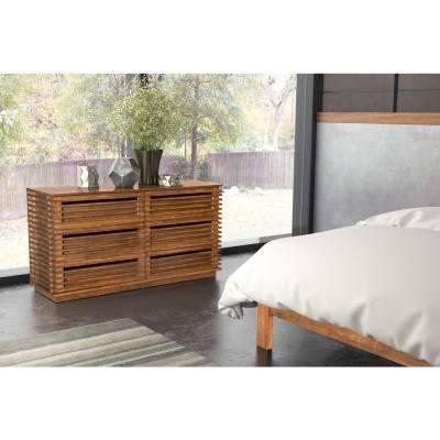 Perth Chestnut Platform Bedroom Set Media Gallery 3