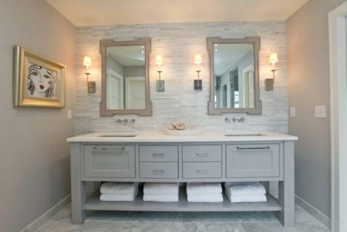 Mirrored Bathroom Vanities Popular You Ll Love Wayfair Onsingularity Com For 13
