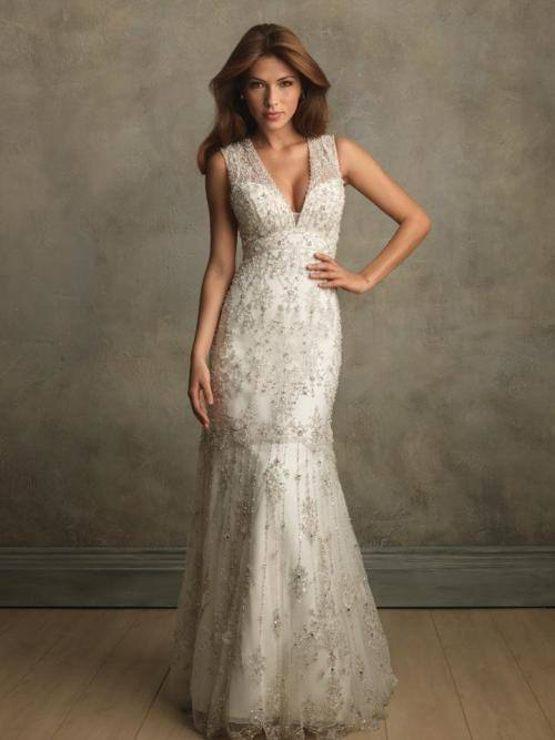 Renda White V Neck Long Sleeves Lace Wedding Dresses Bridal Gowns Button Back Custom Made from Reliable dresses for women with large breasts suppliers