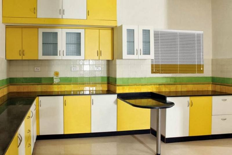 Yellow Kitchen DesignsKitchen