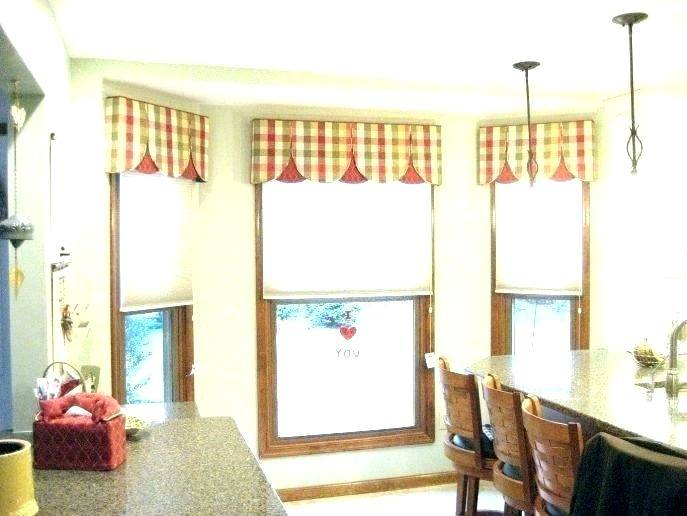 Kitchen Valance Ideas Bay Window Kitchen Appliances Tips And Review