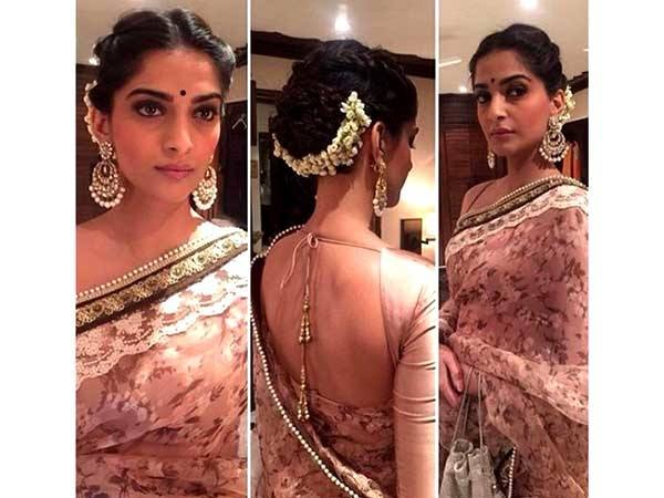 Sarees are flexible and any hair style can just go with a saree if neatly done