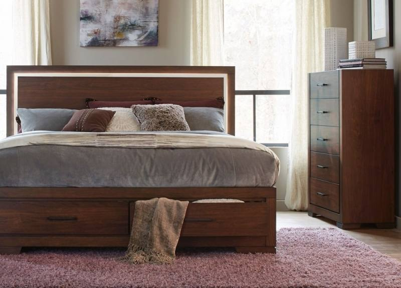 Rhianna King Upholstered Bed, , large