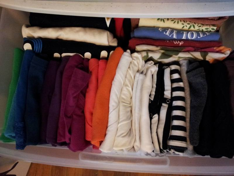 clothes storage ideas for small