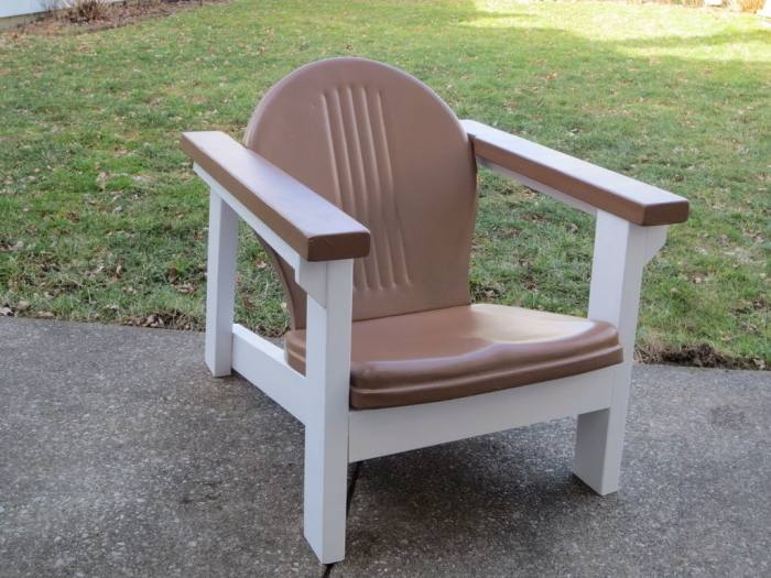 Adirondack chair is another traditional style and man is it beautiful