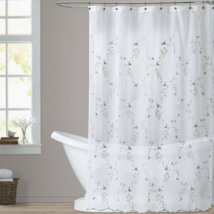 bathroom curtain ideas shower