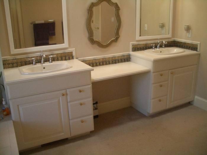 bathroom backsplash tile ideas bathroom tile ideas love the separate  medicine cabinets for each sink would