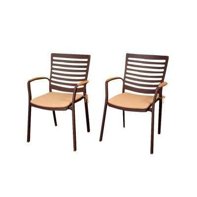 Darlee Ten Star 5 Piece Patio Dining Set Cast Aluminum