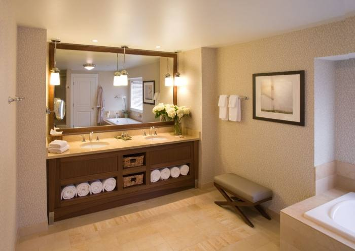 bathroom decorating ideas spa