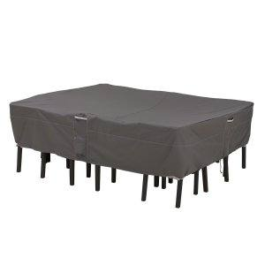 classic accessories patio furniture covers rectangle table oasis  rectangular coffee cover