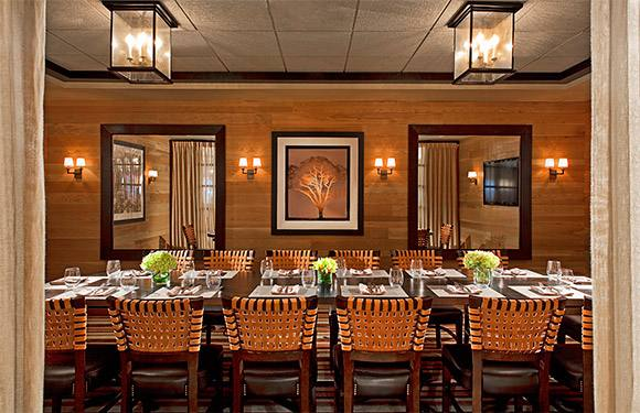 B&B has three private dining rooms