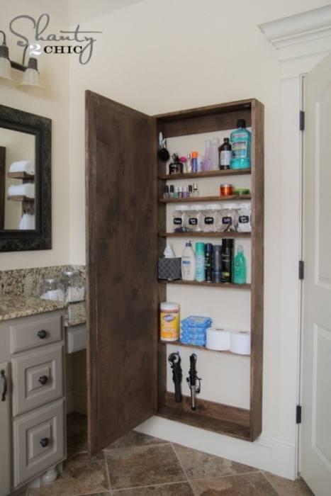 Bathroom Wall Storage Inside Medicine Cabinets Bath Shelves Pottery Barn  Designs