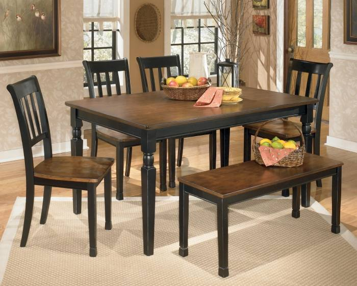 ashley dining room signature design by dining room table set 6 ashley  homestore dining room chairs