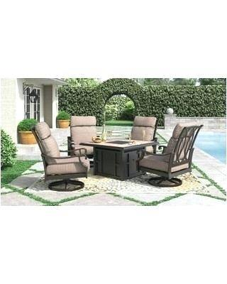 home depot patio dining sets oak cliff