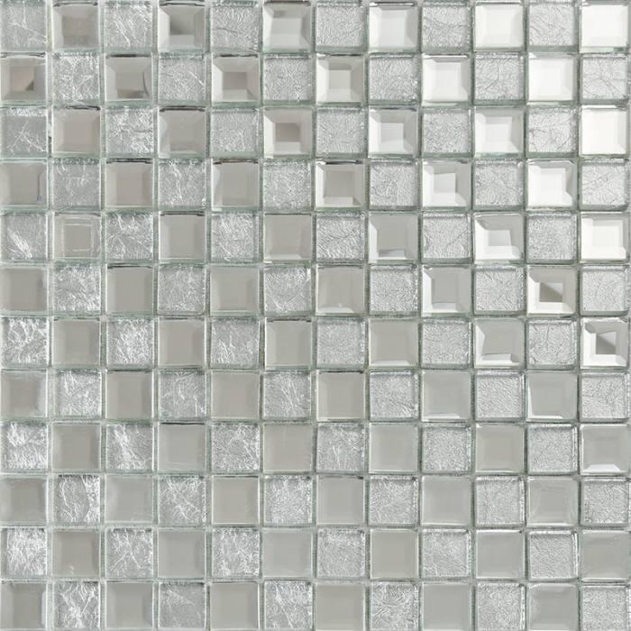 Colorful Tiled Shower