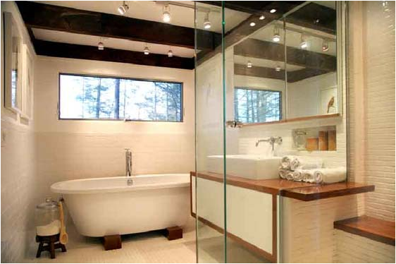 vintage modern bathroom home featured in domino magazine modern vintage bathroom  ideas