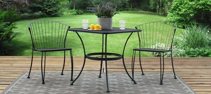 Briarwood Wrought Iron Patio Furniture Contemporary Woodard Collection With Regard To 4