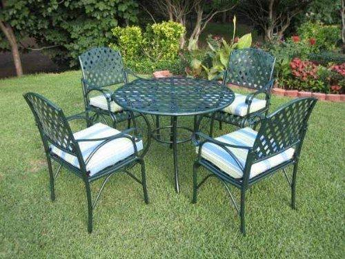 wrought iron patio tables