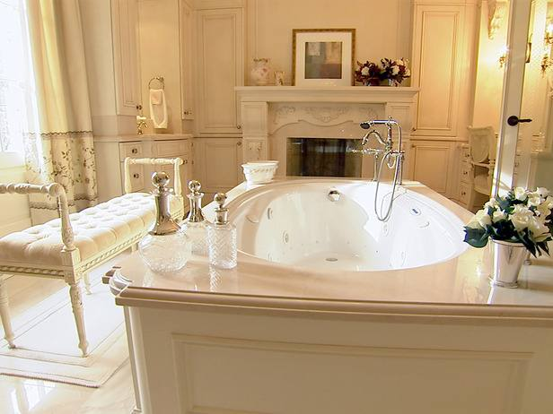 Bathroom Design Medium size French Style Bathrooms Ideas Sleek White  Checkered Floor Tile Country Bathroom Design