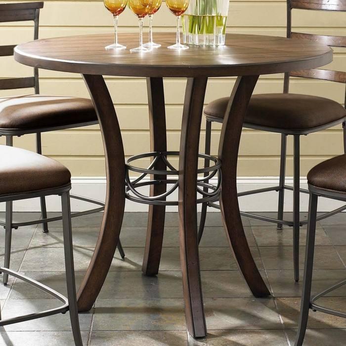 Largo Timbuktu Wood Metal Rectangular Dining Table Olinde S Regarding And  Room Designs