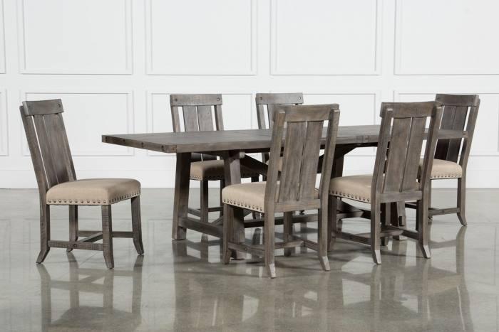 black salvaged wood dining table, Restoration Hardware Salvaged Wood  Trestle Rectangular Extension Dining Table, lined with black and … | Dining  Rooms