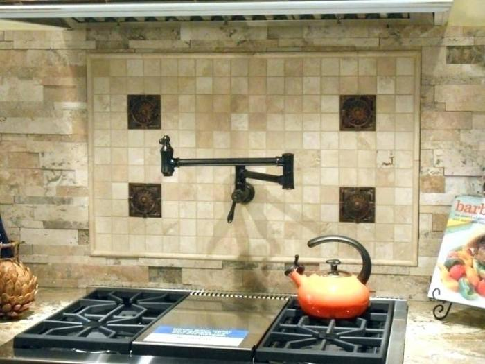 Our Kitchen Reno Glass Backsplash Behind The Gas Stove And Range Pertaining  To Prepare