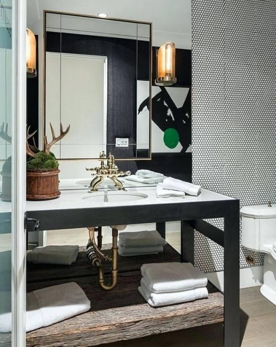 Bathroom, Contemporary Industrial Bathroom Design Ideas Beautiful  Divine S Top Bathroom Design Trends For 2015