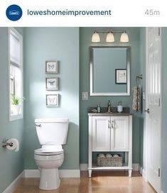 small half bathroom paint