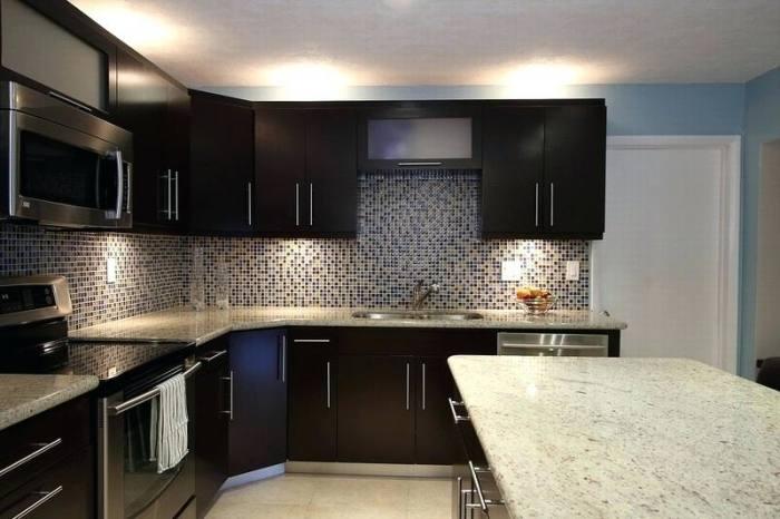 White Marble Tile Backsplash