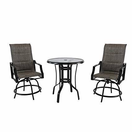 Hampton Bay Belleville 7 Piece Padded Sling Outdoor Dining Set With Regard  To Hampton Outdoor Furniture Plan