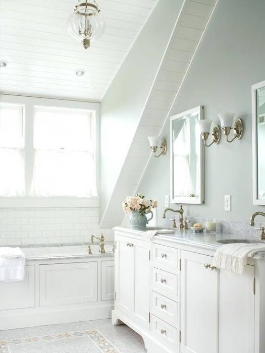 small blue bathroom ideas
