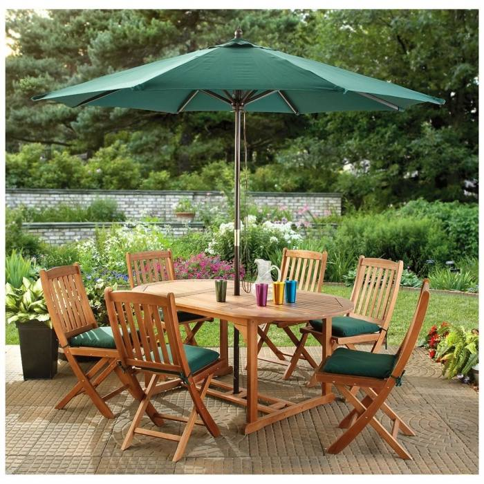 Vibrant Design Patio Furniture With Umbrella Ideas Large Cantilever  Brown