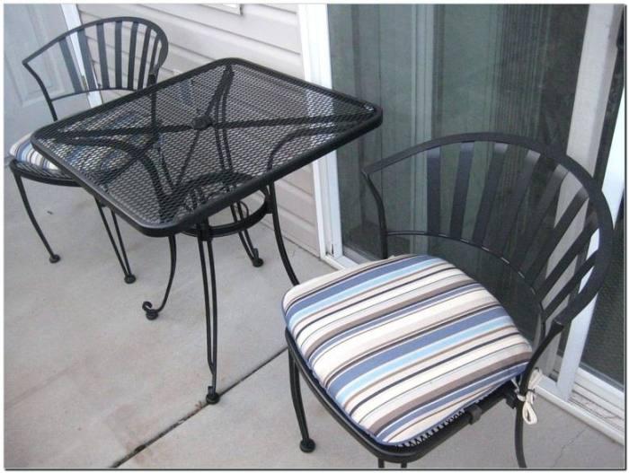 cosco patio furniture stone lake aluminum sling patio fire pit conversation  set 3 piece costco patio
