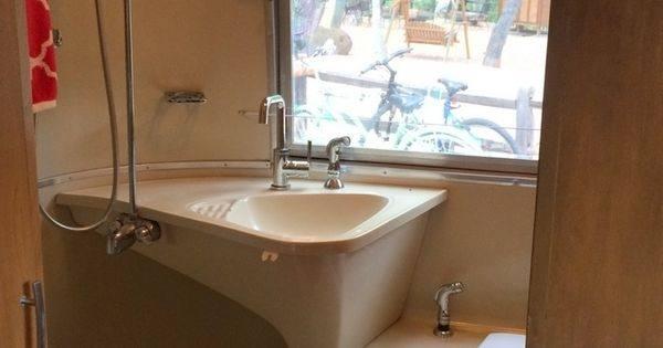classic airstream bathroom storage ideas