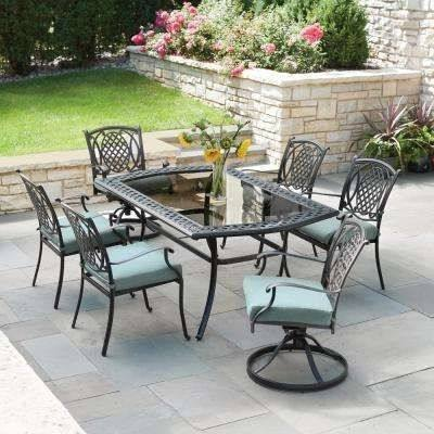Home Depot Outdoor Dining Table 9 Piece Patio Dining Set Contemporary Patio  Dining Furniture