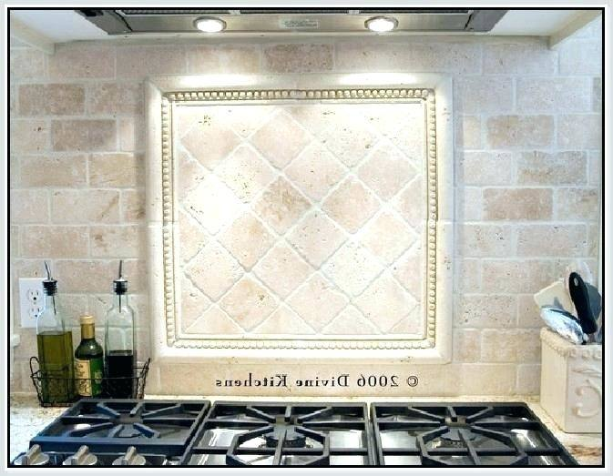 tile kitchen designs picture home design mosaic travertine backsplash ideas  recessed