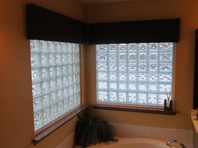 glass block window bathroom glass block window